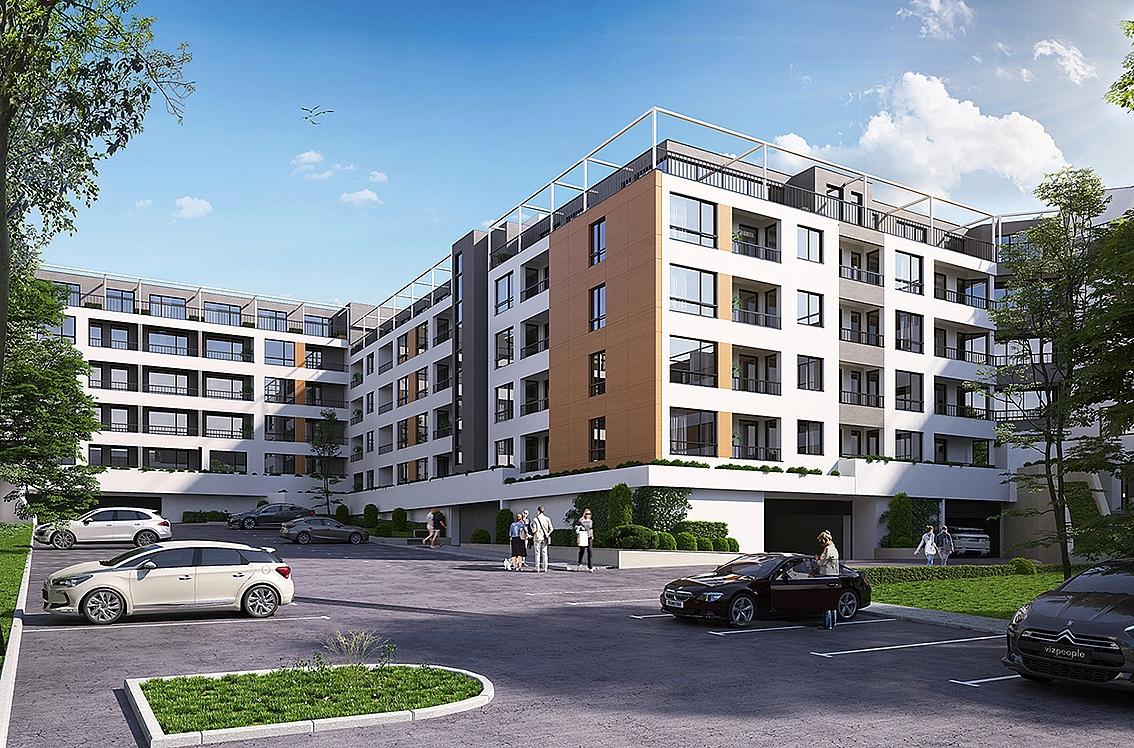 3д визуализация сграда Варна